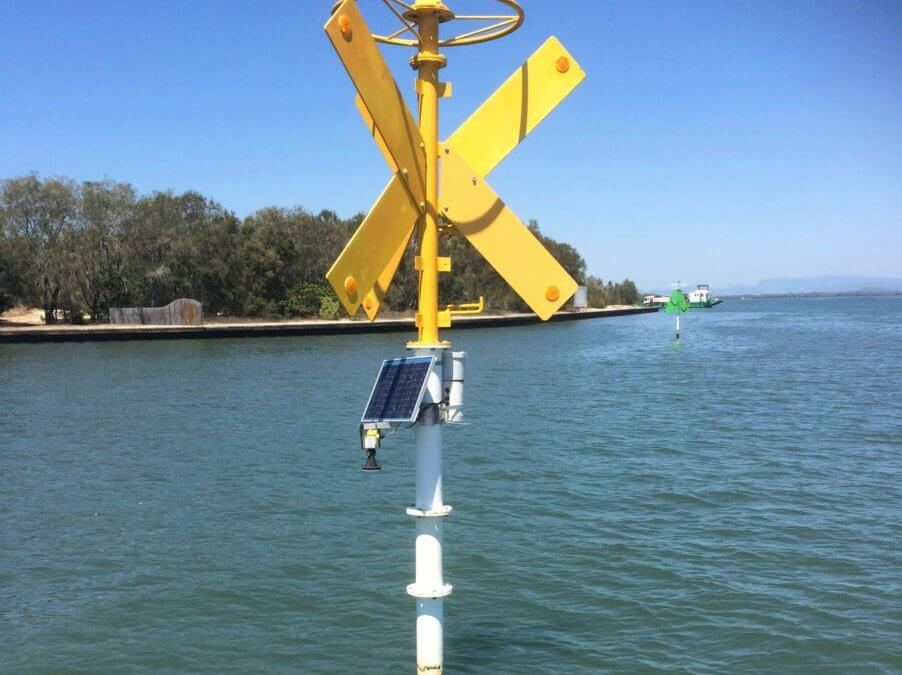 Installation of tide gauges