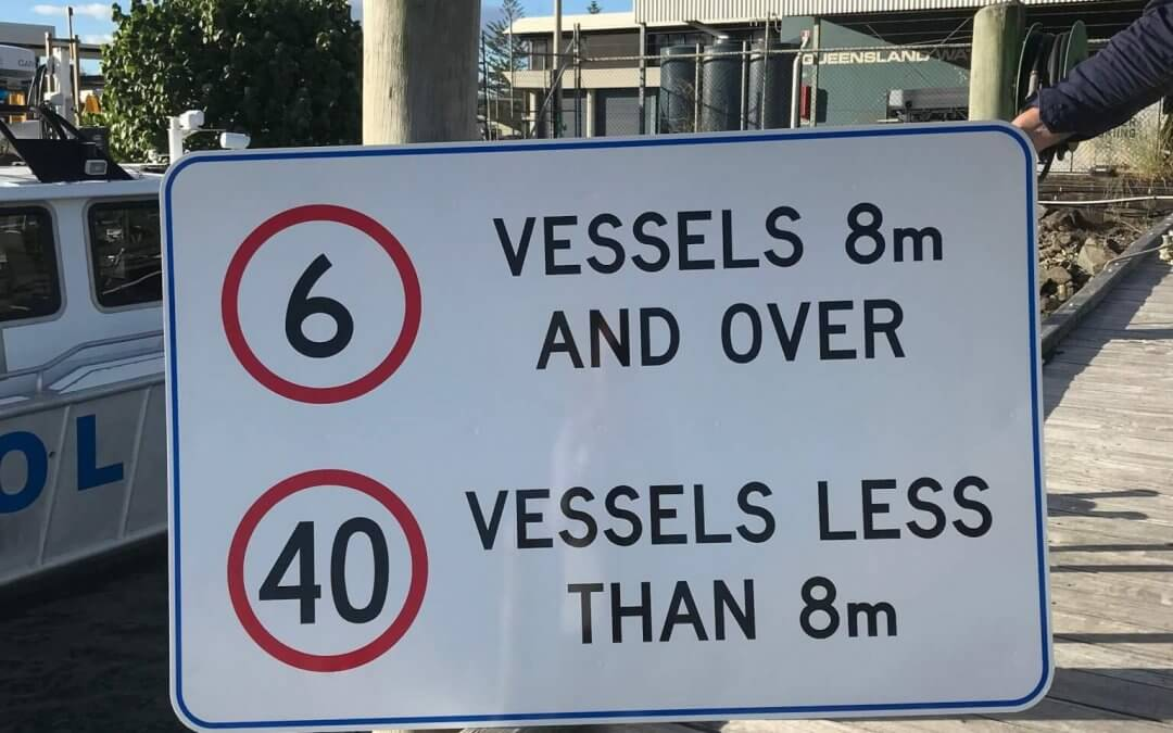 WATERWAYS SPEED LIMITS