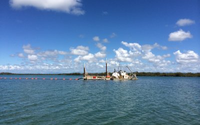 Canaipa Passage dredging complete
