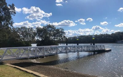 Alberton Pontoon improves access to waterways network