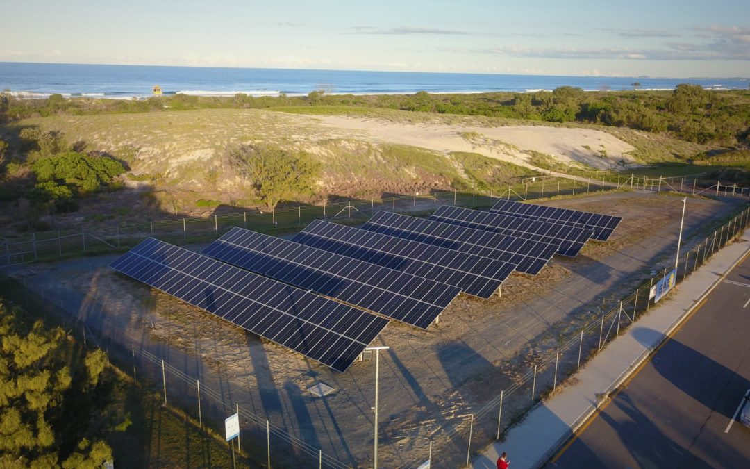 Iconic Gold Coast Sand Bypass System making the most of solar power