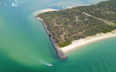 South Wave Break Island channel dredging works start