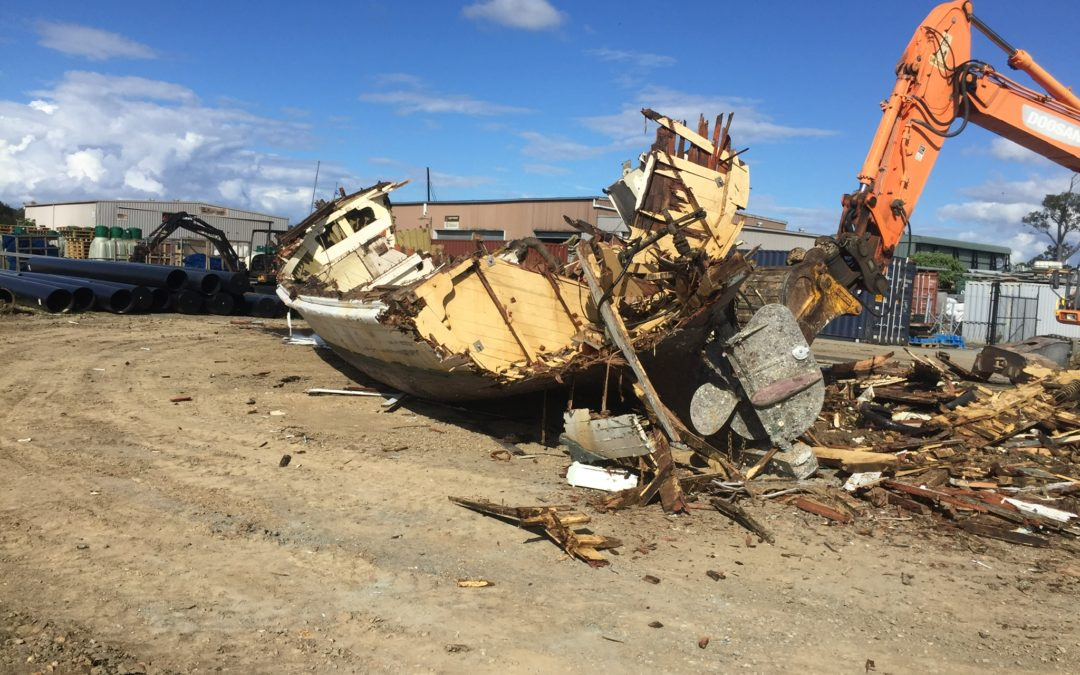Gold Coast gaining ground in War on Wrecks