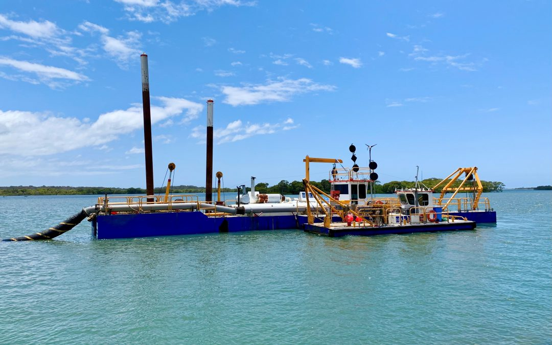 Northern Gold Coast dredging benefits boaties